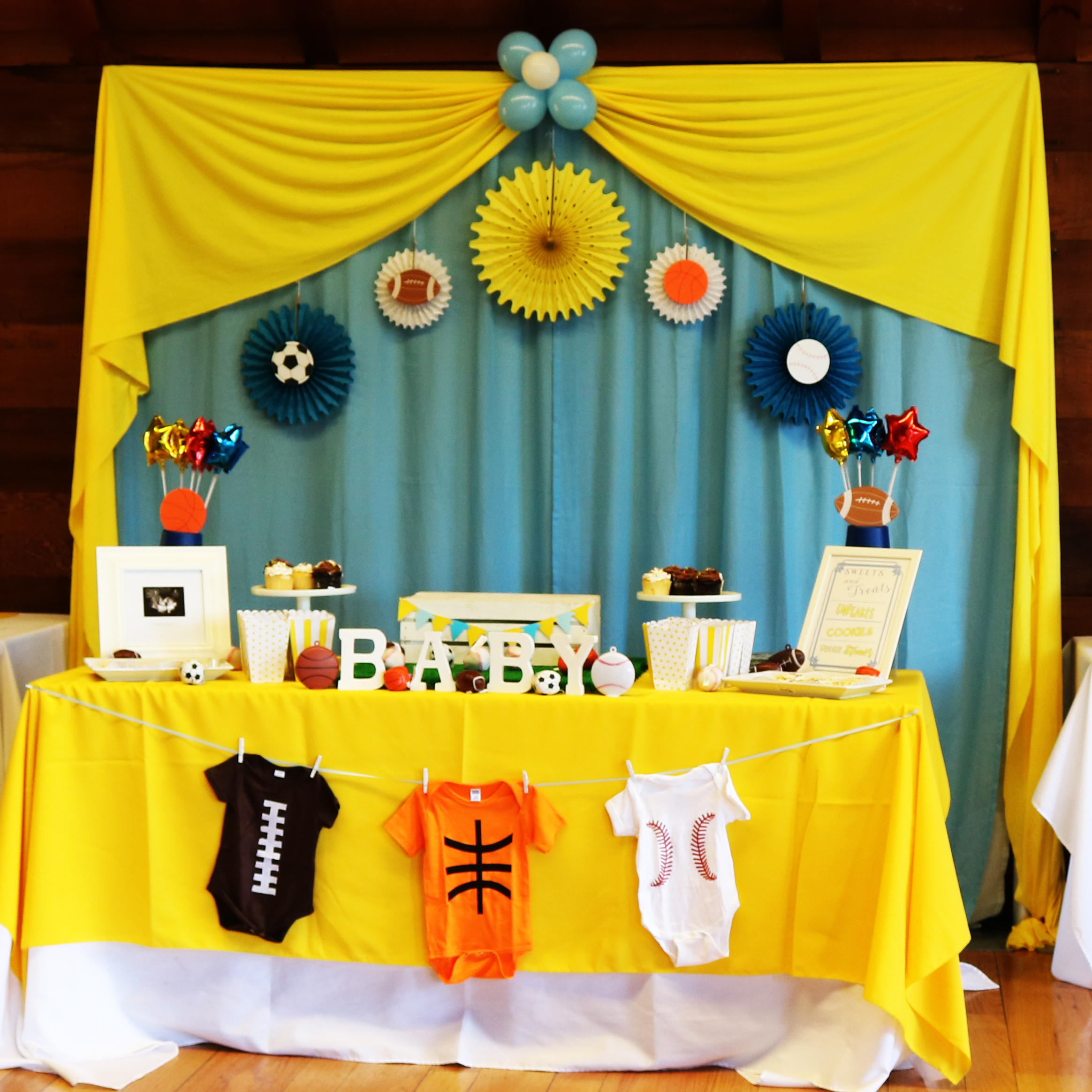 ALL-STAR THEMED BABY SHOWER