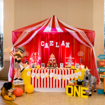 Caelan's Circus Party - Photos by Courtney Yee