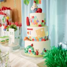 Caterpillar themed 1st Birthday Party Decor 13