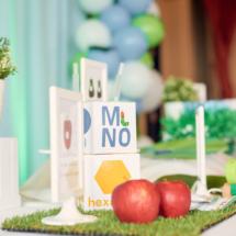 Caterpillar themed 1st Birthday Party Decor 14