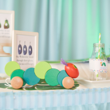 Caterpillar themed 1st Birthday Party Decor 16