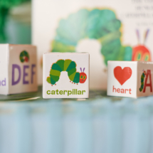 Caterpillar themed 1st Birthday Party Decor 23