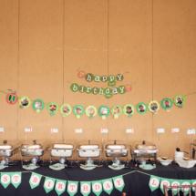 Caterpillar themed 1st Birthday Party Decor 50