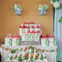 Caterpillar themed 1st Birthday Party Decor 56