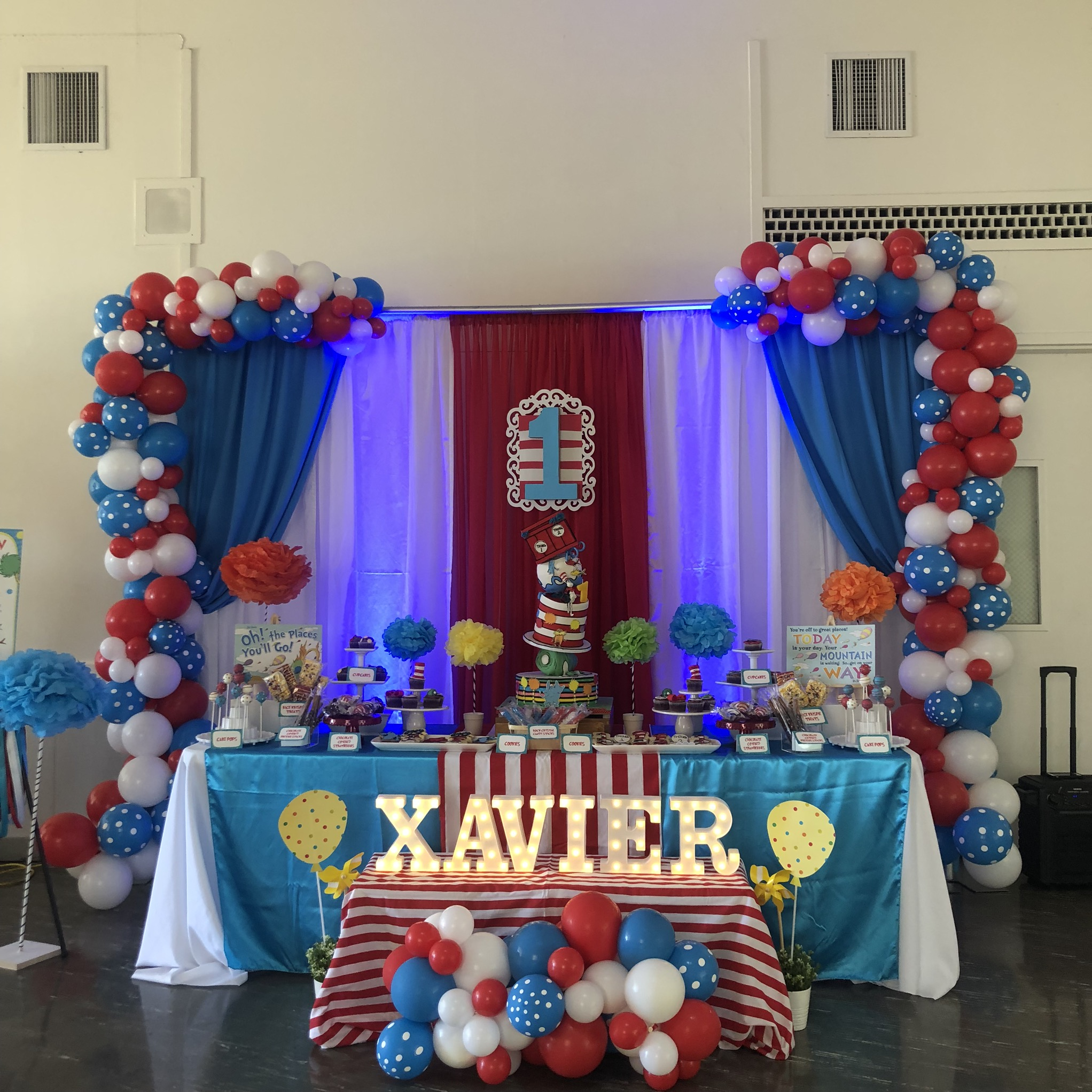 Sarsie's Parties 06-08-19 Dr. Seuss Birthday Party