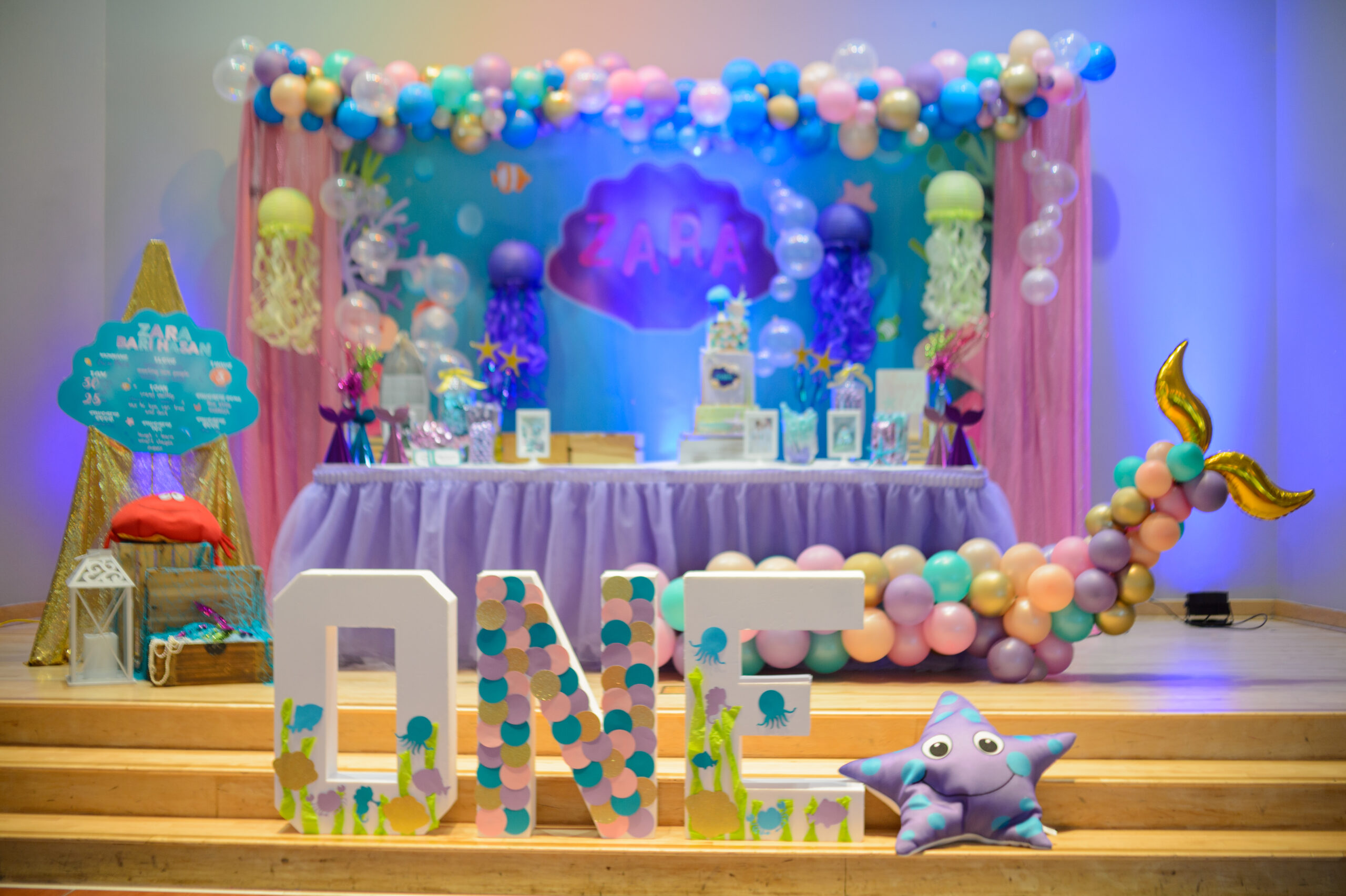 Sarsie's Parties 08-03-19 Under the Sea Birthday Party (Girl)
